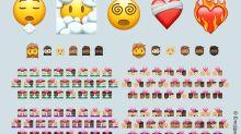 2021 年的 emoji 小改版將僅增添 7 個新圖示