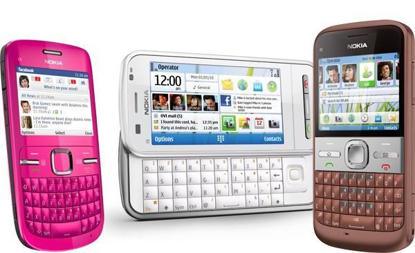 Nokia C3, C6, and E5 try to smarten up the dumbphone market