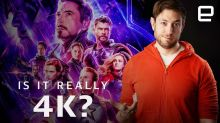 Why your Avengers UHD Blu-rays aren't actually 4K