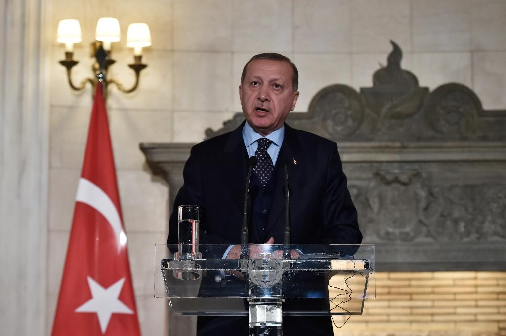 """Turkish President Recep Tayyip Erdogan said the US decision to recognise Jerusalem as the capital of Israel was """"null and void"""" in Ankara's eyes and a """"red line"""" for Muslims"""