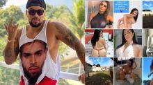 """Naldo Benny pede desculpa após fotos eróticas em perfil hackeado: """"Aqui tem família"""""""
