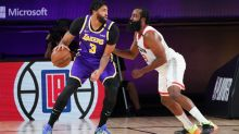Lakers moving Anthony Davis to center no silver bullet vs. Rockets