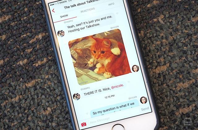 Medium snaps up Talkshow and its public chat app