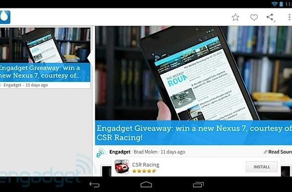 Drippler 2.0 for Android launches with tablet support, new features