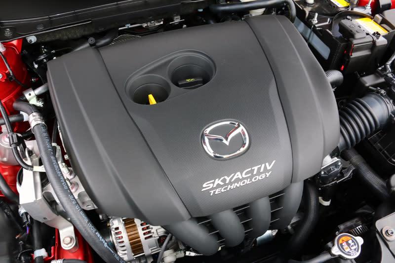 新CX-3雖然仍搭載2.0升自然引擎,扭力也僅微幅增加0.2kgm,但實際上Mazda卻對這具引擎進行不少改良,以對應聯合國最新推行的WLTP (Worldwide Harmonized Light Vehicles Test Procedures) 世界輕負載車輛測試程序,讓油耗數具更貼近於現實狀況。