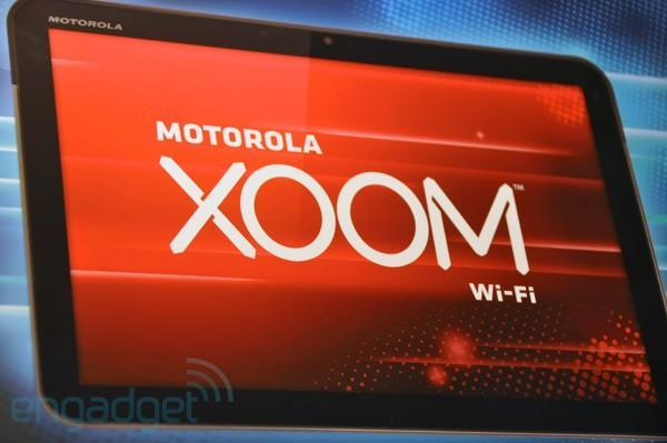 Motorola Xoom UK pricing official at £580 for 3G and £480 for WiFi-only