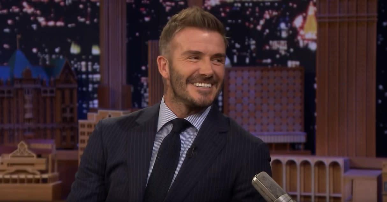 David Beckham still has the train ticket Victoria Beckham wrote her number on when they first met