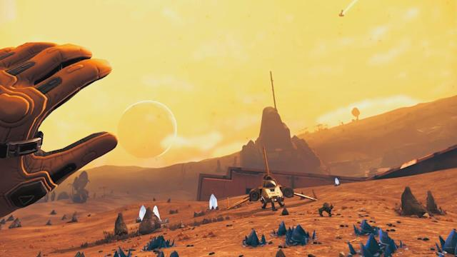 'No Man's Sky VR' puts the universe on your headset for free