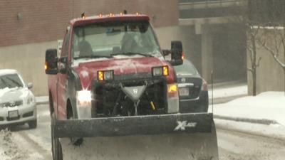 Winter Weather Hits Boston Area