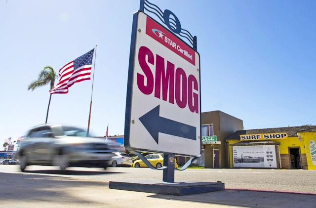 California's new car emission standards defy the White House