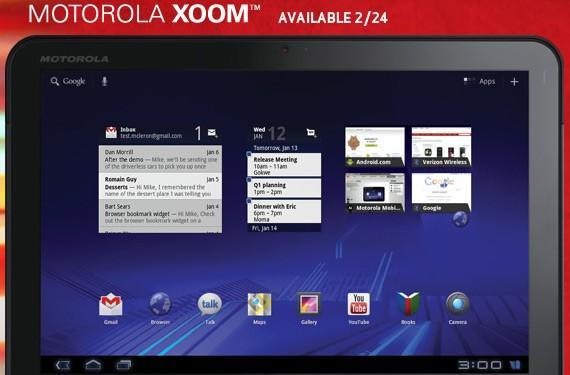 Motorola Xoom will ship without Flash support on February 24th, expects it in 'Spring 2011' (updated)