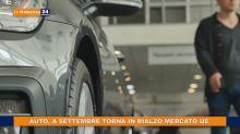Auto, a settembre torna in rialzo mercato Ue