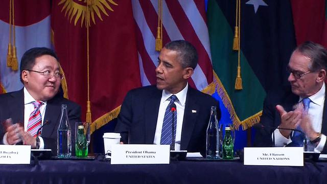 Obama to attend UN lunch: Is a potential meeting with Iranian pres. in the works?