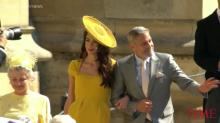 Everyone Made the Same Joke About George and Amal Clooney at the Royal Wedding