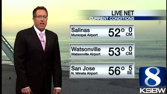 Get Your Friday KSBW Weather Forecast 5.03.13