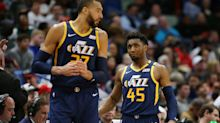 Donovan Mitchell, Rudy Gobert shut down Jazz fan angry about 'Black Lives Matter' on courts