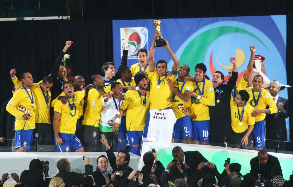 Brasil campeão da Copa das Cofederações