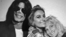 Paris Jackson cuelga foto junto a sus padres