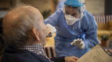 Stocks jump as global coronavirus case growth slows