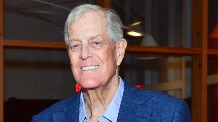 Conservative billionaire David Koch dies at 79
