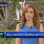 Some Hollywood movie productions stop work in Georgia after abortion law passed