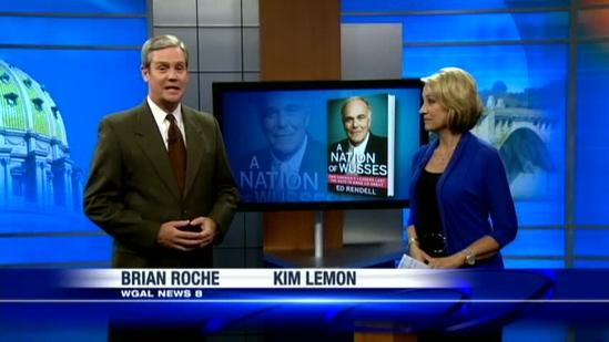 News 8's Matt Belanger talks with former governor about new book