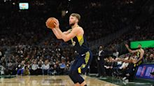 Pacers' Domantas Sabonis returning to NBA bubble after foot injury