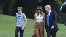 Barron Trump Becomes an Unintentional Fashion Icon