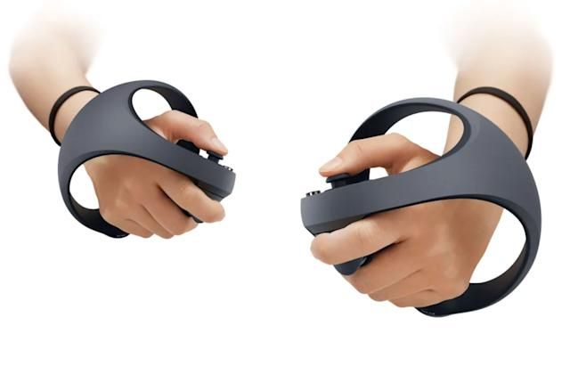 These are Sony's PS5 VR controllers