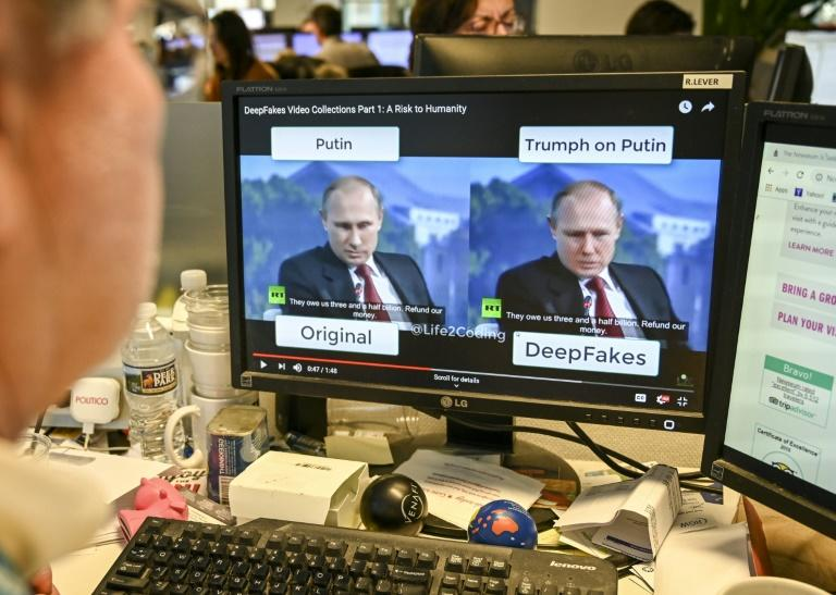 Deepfake videos can make it appear that people are doing or saying fictional things in an effort to spread misinformation