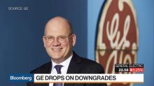 GE Shares Tumble on Multiple Rating Downgrades