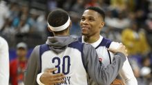 Russell Westbrook on Stephen Curry's choice of James Harden as 2017 MVP: 'Who's he?'
