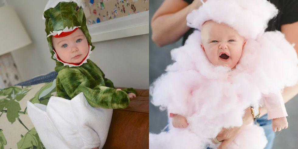 "<p>The best thing about having a baby on Halloween is dressing him or her up in whatever <em>you </em>decide. All of these <a href=""https://www.womansday.com/style/fashion/g1923/cutest-couples-costumes-for-halloween/"" rel=""nofollow noopener"" target=""_blank"" data-ylk=""slk:baby and toddler costumes"" class=""link rapid-noclick-resp"">baby and toddler costumes</a> will result in photos that you'll cherish for years to come ... even if they only keep the costume on for 10 minutes.</p>"