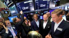 Acciones de Uber caen 9% en tormentoso debut en bolsa