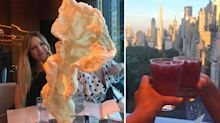 This NYC hotel serves a giant pork crackling bigger than your upper body