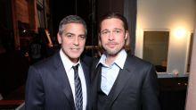 Brad Pitt le pide perdón a George Clooney