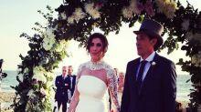 Las imágenes de la romántica y sorprendente boda de Paz Padilla