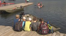 Young paddlers at Banook Canoe Club left high and dry by algae outbreak