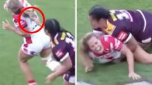 'Very lucky': NRLW player escapes ban after hair-pull tackle