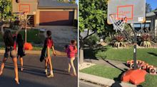 'We were disheartened': Generous offer to family fined over basketball hoop