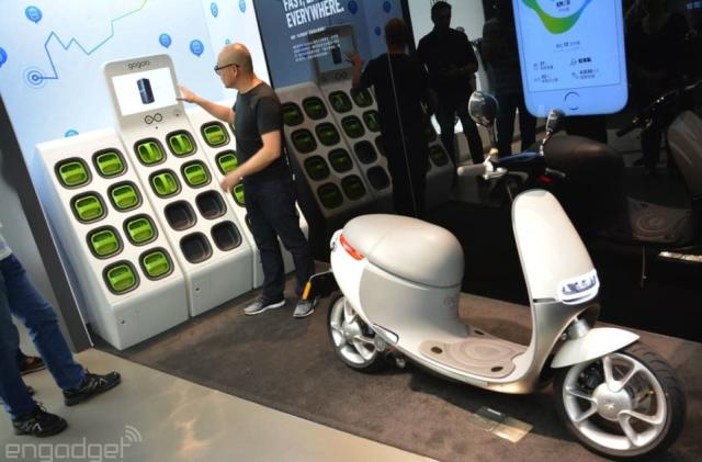 Gogoro starts shipping its Smartscooter in Taiwan