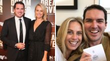 Peter Stefanovic and Sylvia Jeffreys expecting a baby boy