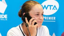 'It's Ash Barty, who's this?': World no.1's hilarious press conference