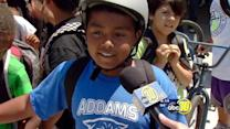 70 Fresno kids walked away with a free bike