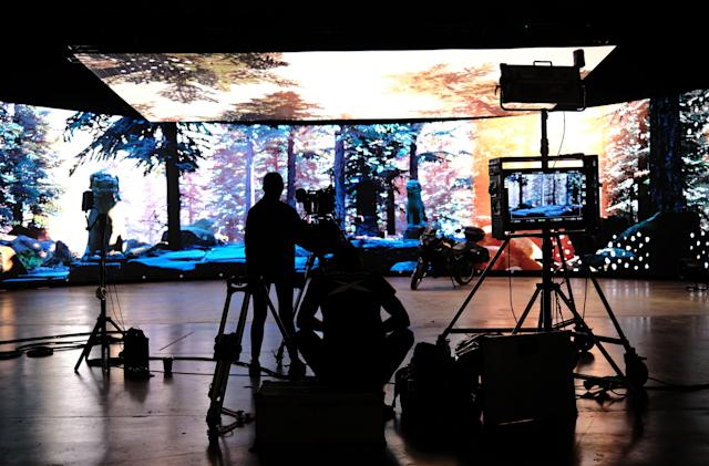 'Virtual' studios could offer a real alternative to green screen special effects