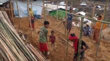 UN Agency Works to Weatherproof Rohingya Shelters Before Monsoon Season