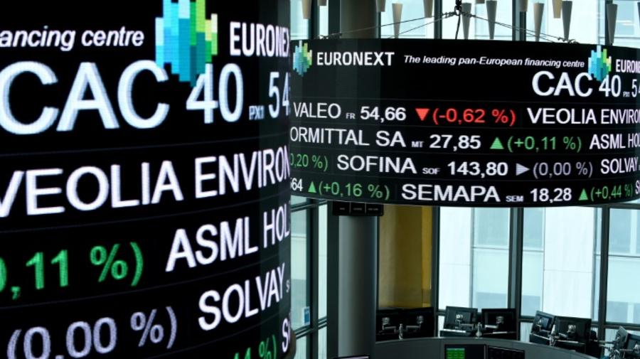 La Bourse de Paris toujours tourmentée par la thématique commerciale (-1,49%)