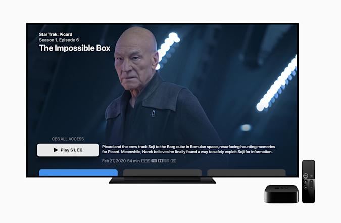 Apple's new CBS All Access and Showtime bundle.