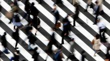 Asian markets fall, following Wall Street's lead