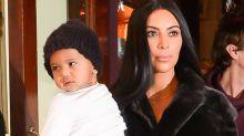 Kim Kardashian Shares Photo of Saint and Chicago
